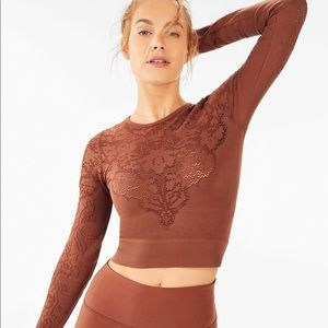 Fabletics Flora Seamless L/S Workout Top